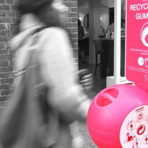 Did you know that recycling chewing gum can be turned into a number of different daily products?