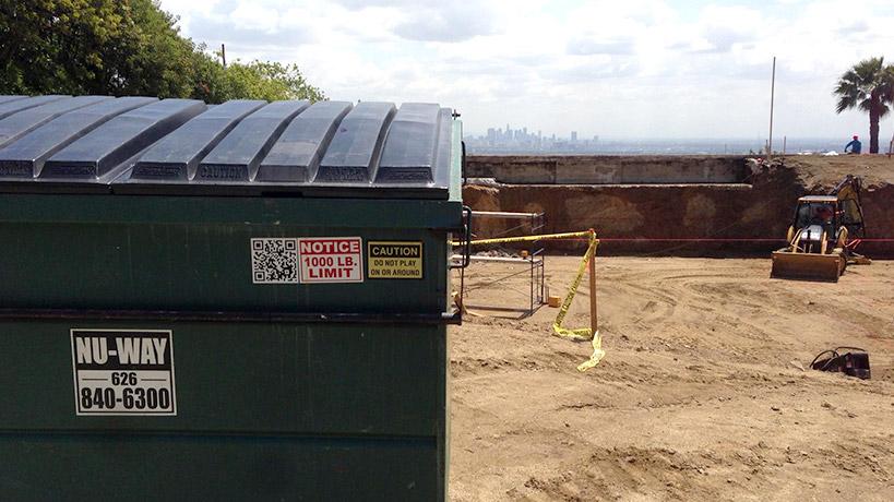 Los Angeles Garbage Bin Rental