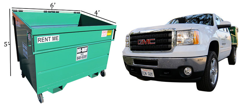 Dumpster and bin rentals