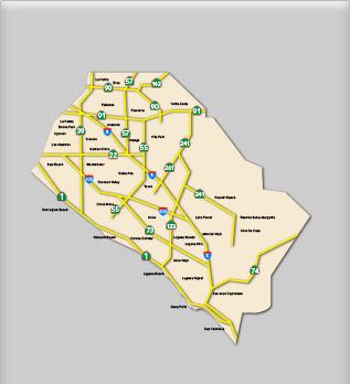 Service Area - Orange County