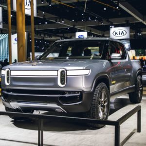 Rivian electric car brand jumping into E-Truck Market