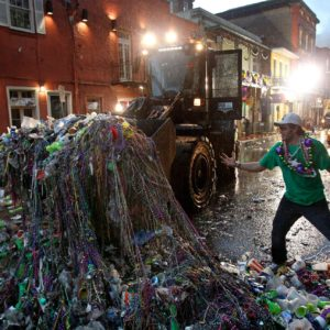 Mardi Gras and it's waste