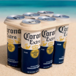 Corona Beer to sell cans with edible rings