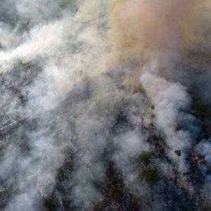 Amazon Rain Forest fires encouraged by Brazilian President Bolsonaro
