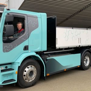 Volvo Electric Commercial Truck Platform available