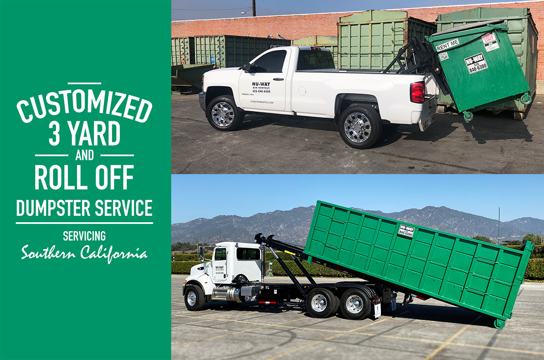 Dumpster Rentals In Los Angeles Orange County Nu Way Bin Rentals